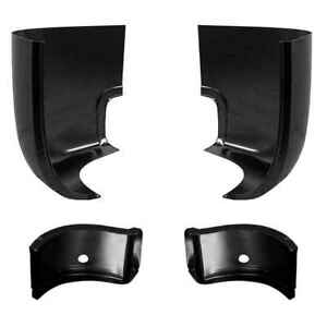Inner Outer Cab Corner Kit For 47 55 Chevy Gmc Pickup Truck 1st Series