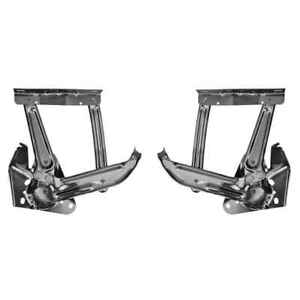 Hood Hinge Without Springs For 67 72 Chevy Gmc Pickup Truck 69 72 Blazer Pair