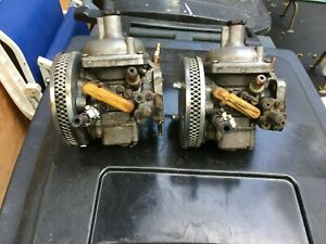 Triumph Tr6 Zenith Stromberg 175 Carburetors Good Condition