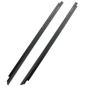 Front Outer Felt Window Sweep Belt Weatherstrip Kit Pair For 07 18 Jeep Wrangler