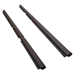 Rear Outer Felt Window Sweep Belt Kit Pair For 99 04 Jeep Grand Cherokee