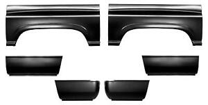 Wheel Arch Lower Front Rear Bed Quarter Panel 8 Bed For 94 02 Dodge Ram