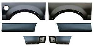 Wheel Arch Front Rear Lower Bed Kit 8 Bed For 04 08 Ford F150 Pickup Truck