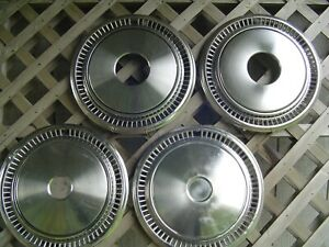 15 In 4 4 Vintage Pickup Truck Power Wagan Dodge Chrysler Plymouth Hubcaps Mopar