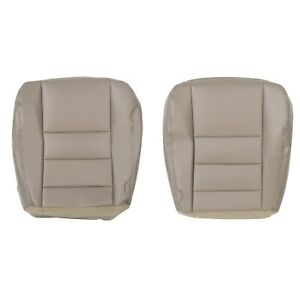 For 2002 2004 Ford Excursion Limited Driver Passenger Bottom Seat Cover Tan