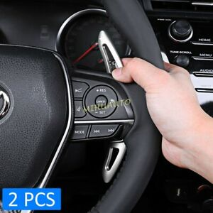 For 2018 Toyota Camry Avalon Corolla Steering Wheel Shift Paddle Accessories