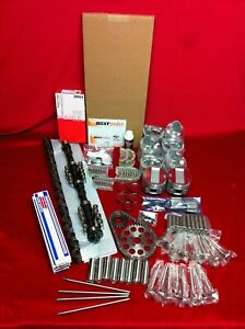 Cadillac 331 Master Engine Kit Pistons Cam Bearings Gaskets Rings 1949 50 51 52