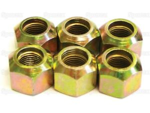 C5nn1012b Front Wheel Nuts For Ford 8n Naa 600 601 800 801 900 2000 4000 To 64