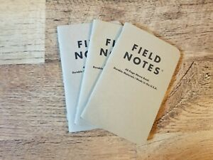 Field Notes Mixed Paper 3 pack Ruled Paper 48 Pages 3 5 X 5 5 Made Usa