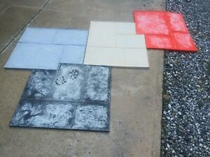 Scofield Professional Concrete Stamps set Of 4