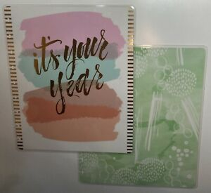 Mambi Happy Planner Pastel Gold Foil It s Your Year Classic Cover
