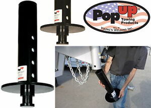 Popup Gn5 4 Round Gooseneck Trailer With Fifth Wheel Truck Adaptor New Usa
