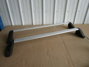 2011 Subaru Impreza Front Rear Roof Cross Bars Oem