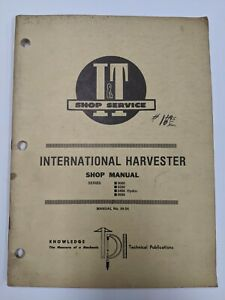b International Farmall It Shop Service Manual 3088 3288 3488 Hydro Ih 54
