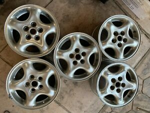 Five Rims Land Rover 16 Wheel Discovery 2 16x8 Rim Oem Factory Anr4848