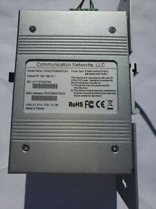 Comnet Cngezfe8mspoe And Mean Well Drp 240 48 Power Supply used