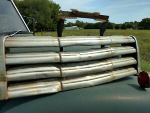 1949 1950 1951 1952 1953 Gmc Chrome Grille Patina Rat Rod Man Cave Wall Hanger