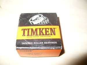 Nip Timken 07087 Tapered Roller Bearing Cone Only 7 8 Inside Dia No Cup