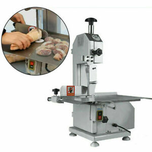 110v Electric Bone Sawing Commercial Frozen Meat Bone Cutting Band Saw Machine