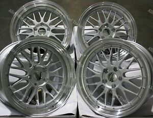 18 Sp Dare Lm Alloy Wheels Fits Bmw 8 Series E31 Coupe Old Skool Wider Rear
