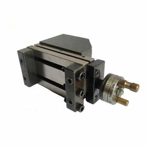 Toolpost Mini Vertical Slide Milling Tool Suitable For Bench Lathe Upto 150 Mm