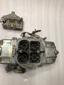 Holley 830 Cfm Race Carb Boosted Annular Discharge Racing Carburetor