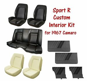 Custom Sport R Package For 1967 Camaro Upholstery Seat Foam And Door Panels
