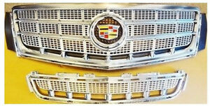Cadillac Xts 2013 2014 2015 Platinum Upper Lower Grille