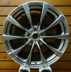 Infiniti G37 2008 2009 19x9 Factory Oem Rear Wheel Hyper Silver 73705