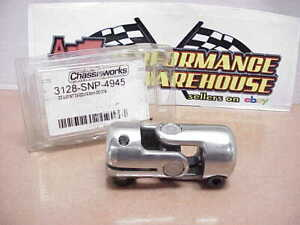 New Chassis Works Stainless Steering Universal U Joint 3 4 Dd X 16 8mm Dd