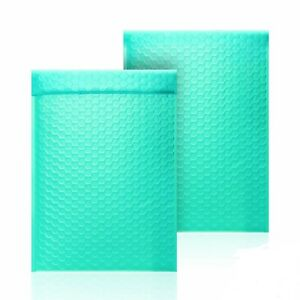 2 8 5x12 Usable Space 8 5 X 11 Poly Bubble Teal Mailer Padded Envelopes
