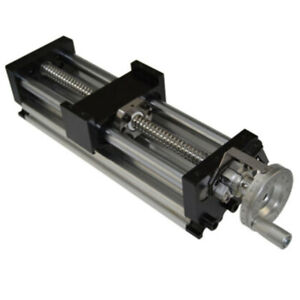Table Ballscrew 1605 Linear Manual Sliding Stage Actuator Heavy Load Resistance