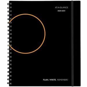 Academic Planner 2020 2021 At a glance Weekly amp Monthly Appointment Book X
