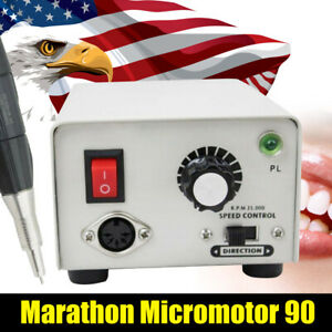 Dental Lab Micromotor Marathon Strong 90 Micro Motor Polisher Handpiece 2 35mm