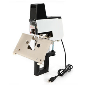 Pro Auto Stapler Binder Flat Saddle Stitcher Bookbinding Stitching Machine