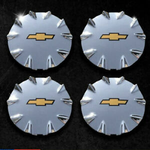 Fits Chevrolet Ssr Chrome Center Caps Hubcaps 2003 2006 2 Front 2 Rear Set Of 4