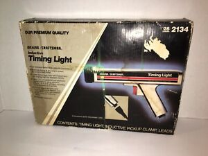 Sears Craftman Besr Inductive Timing Light Die Cast Chrome Plated Nice