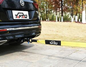 Toptow Recovery Tow Strap Kit Swivel Recovery Hitch Receiver 3 X 20 Strap