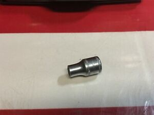 Snap On Socket 5 5m M 1 4 Drive 6 Point Tmm5 Broken K3k3