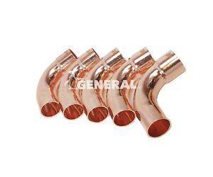 Street Copper Elbow 90 Deg 3 4 Long Radius A c Refrigeration Lines 5 Pcs