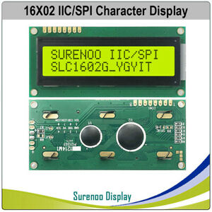 1602 162 Serial Spi Iic I2c Lcd Module Display Panel Screen Aip31068 For Arduino
