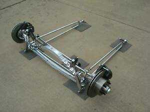 Pete Jakes 4095c Chrome I beam Dropped Axle Front End 1933 34 Ford Complete