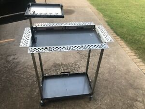 Pdr Tool Cart Case Mobile With Glue Tray Brackets Aluminum Suitcase Ultra A61gt