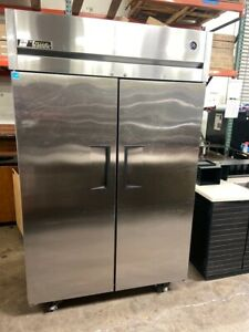 2 Door Reach In Refrigerator Nsf Cooler Stainless Steel Nsf True Tg2r 2s 4908