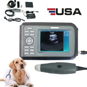 Veterinary Ultrasound Scanner For Farm pet Animals3 5mhz Mechanical Sector Probe