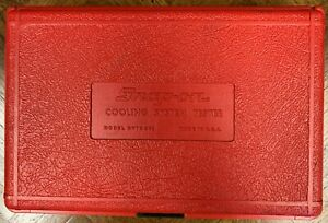 Snap On Cooling System Tester Svts 262 Storage Box Only Like New