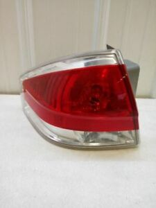 2008 2011 Ford Focus Tail Light Driver Left Oem Used Tested Chrome Trim