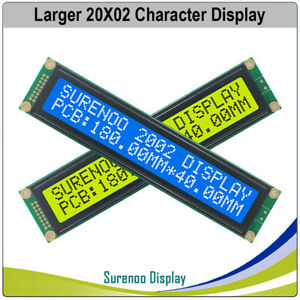 180 0x40 0mm 2002 202 Larger Character Lcd Module Display Screen Panel Lcm Stn