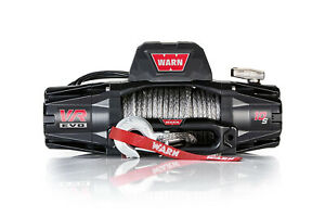 Warn Vr Evo 10 S Winch 10000 Synthetic Rope 103253
