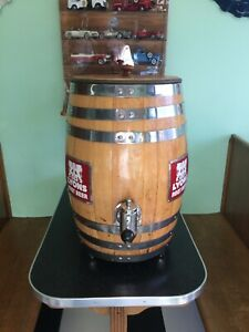 Vintage Root Beer Barrel Soda Fountain Dispenser Diner